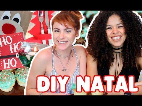 DIY :: 6 IDEIAS INCRIVEIS pro Natal! - YouTube
