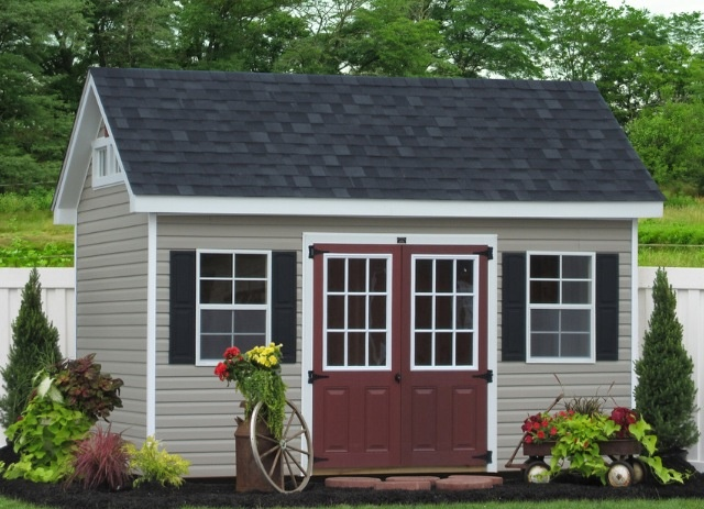 premier garden shed in vinyl traditional garage and shed philadelphia sheds unlimited inc