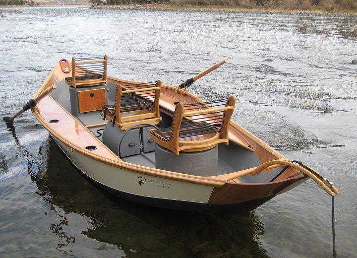 Keels big recurve skiff drift boats pinterest for Drift boat fishing