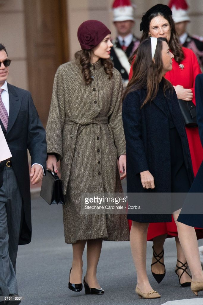 News Photo : Charlotte Casiraghi arrives at the Cathedral of...
