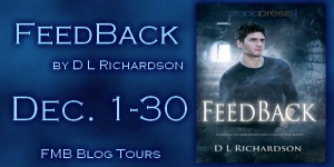 Feedback book tour hosted by Full Moon Bites. Heaps of reviews, guest posts, flash fiction, interviews, excerpts and SWAG giveaways happened Dec 2012.