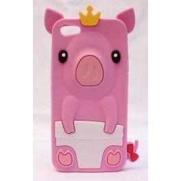 Kuningas possu iPhone 5 suojakuori.