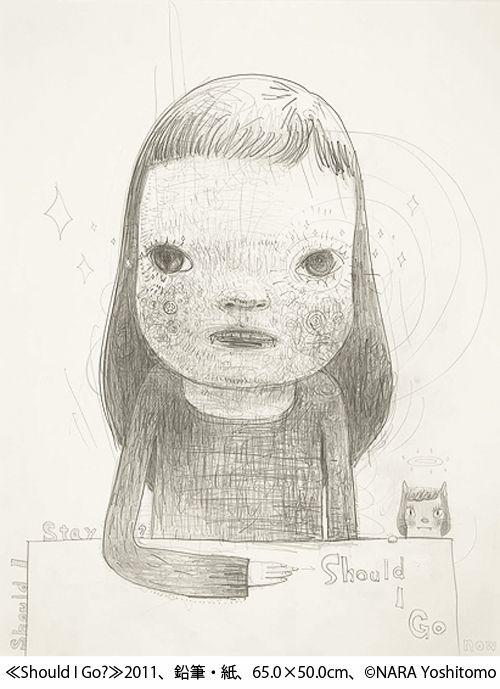 奈良美智が横浜美術館で個展「奈良美智:君や 僕に ちょっと似ている」開催 - ブロンズ彫刻や新作披露の写真7