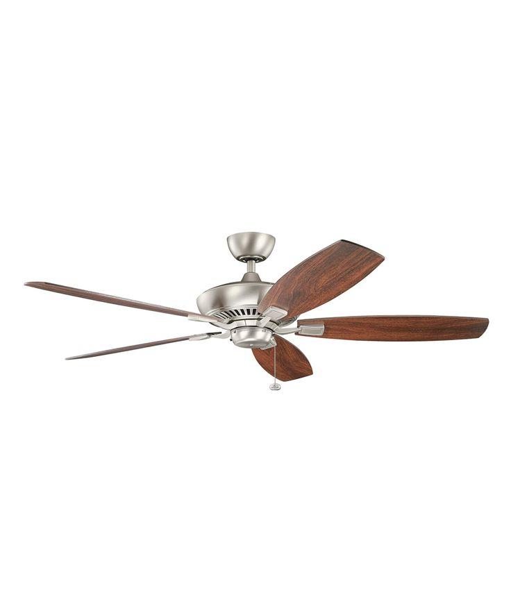 Tulle Ceiling Fan in Brushed Nickel
