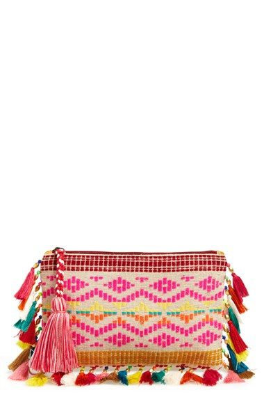 Big Buddha Tassel Pouch available at #Nordstrom