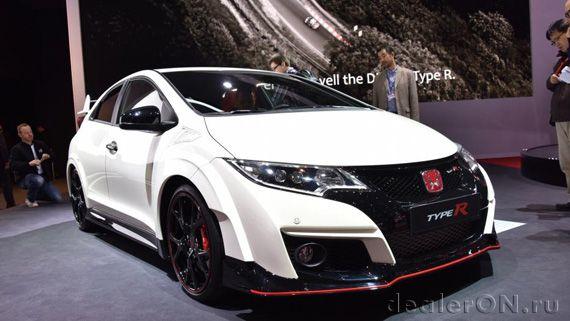 Производительный Honda Civic Type R 2015 / Хонда Сивик Тайп R 2015