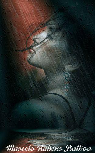 'La lluvia de Milagros' Llueve,desde las entrañas mismas de los cúmulos cae la noche tupiendo el cielo donde la luna suele reinar; ¿estará dormida en su palacio de estrellas?… hoy está sola su...