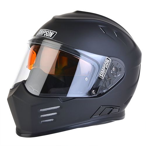 Ghost Bandit: Simpson Race Products. with speakers/ blue tooth