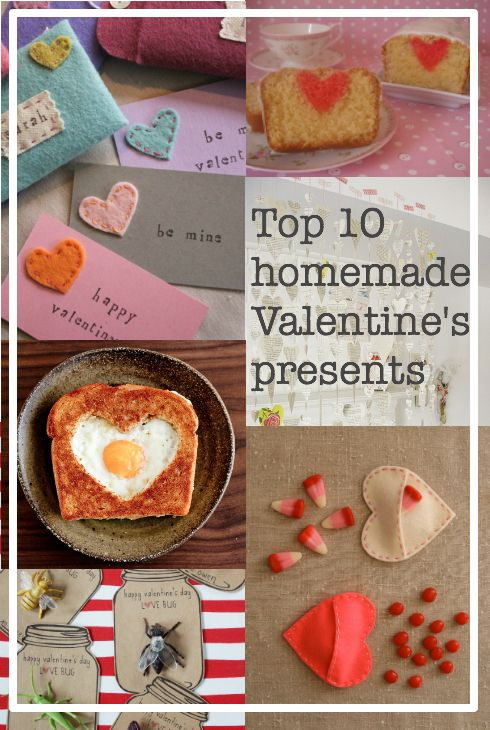 Round-up of the best homemade Valentine's presents...