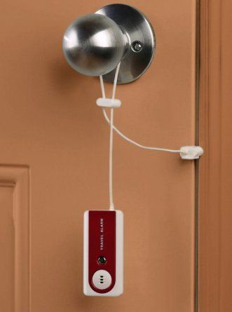 Bell Hop Alarm. For anyone who can never quite get a good night's sleep in a cruise cabin due to security worries, this gadget can help allay those fears a little.