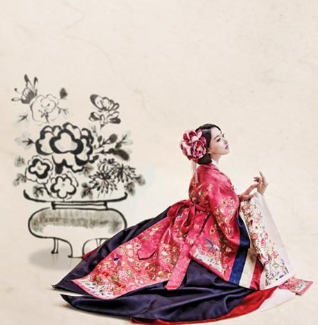 Bridal 한복 Hanbok / Traditional Korean dress