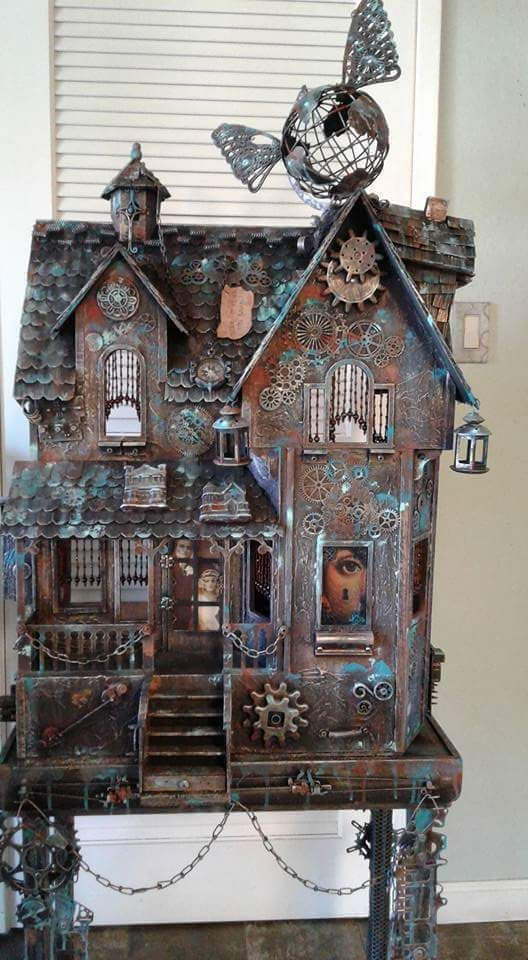 25 Best Ideas About Steampunk House On Pinterest