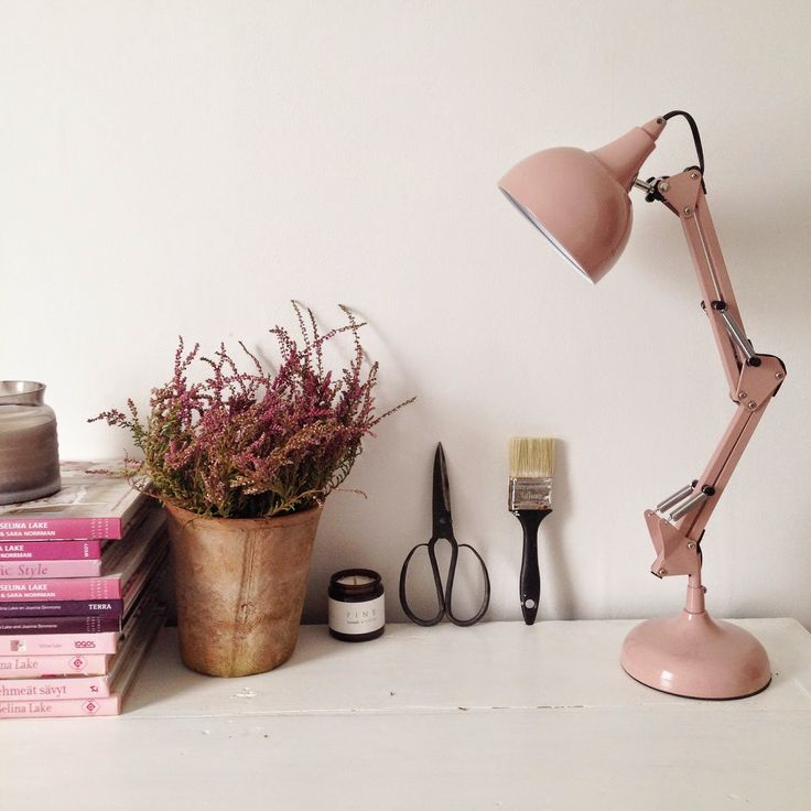 Selina Lake: My Tesco Home this Autumn - Dorest Lamp in Chalk Pink from @tesco #Mytescohome