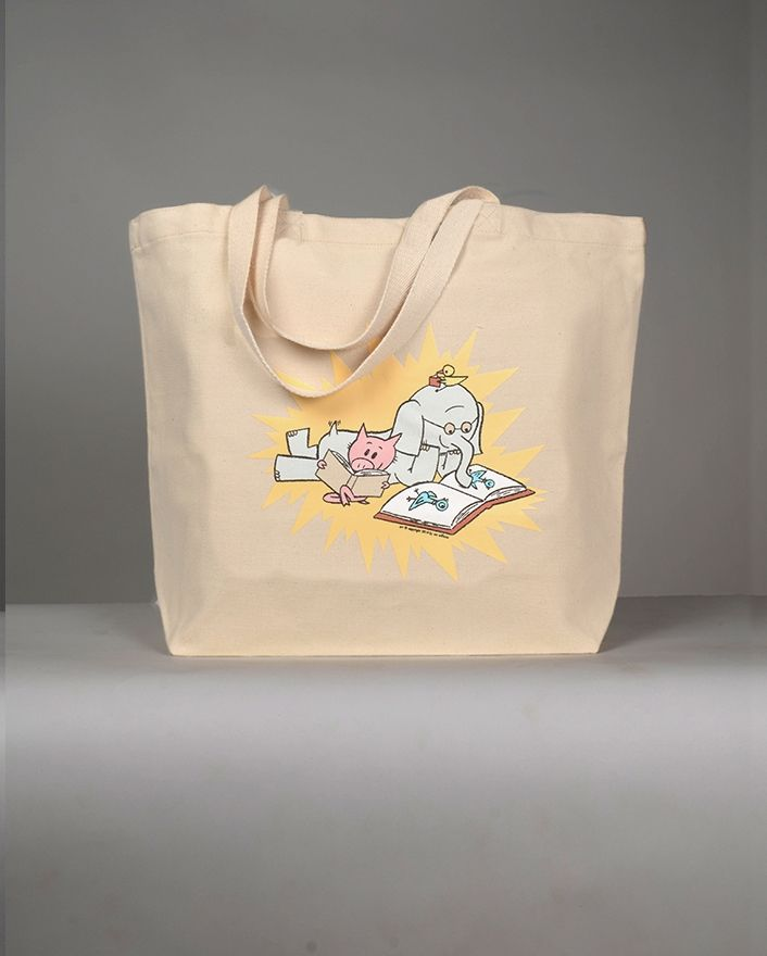 Mo Willems Read Tote- @tree71777 , these bags look like something you have to check out!