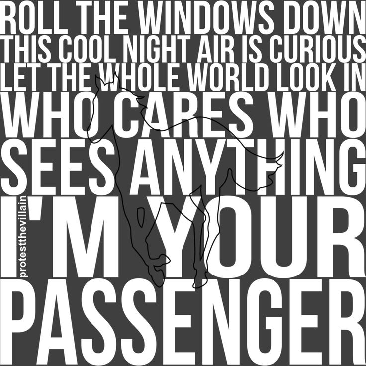 lyric excerpt from deftones passenger white pony album