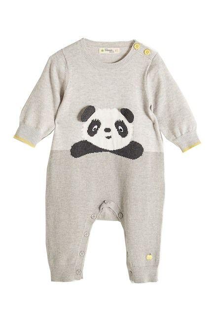 88bfca45c9e2 Image of Bonnie Mob Panda Intarsia Playsuit (Baby)