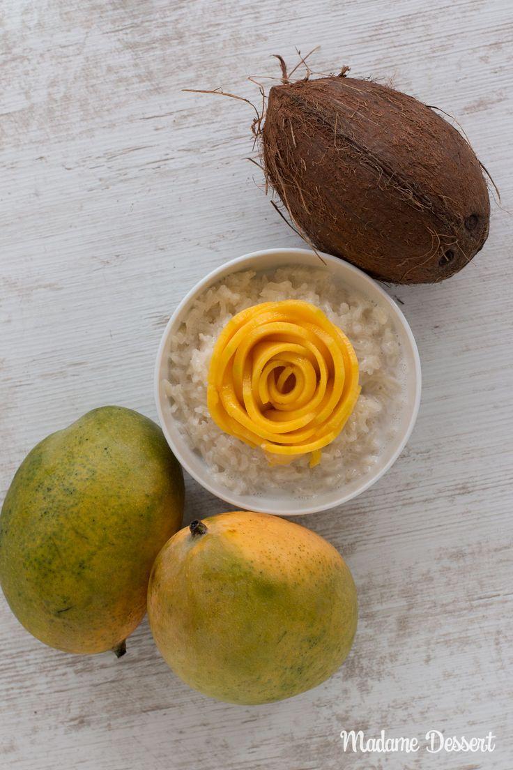 Mango mit Sticky Rice – Original Rezept für den Dessert Klassiker aus Thailand