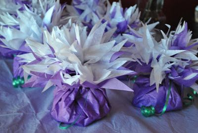 Purple Party and Dessert Table - The Kitchen McCabe
