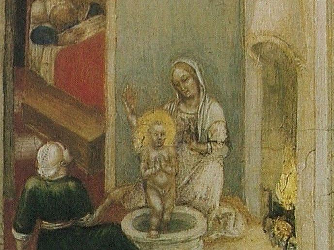 Rond het jaar 300 na Christus was Nicolaas de bisschop van Myra. Hij deed veel goeds voor de mensen. Daarom verklaarden de mensen hem na zijn dood heilig. Zijn naam werd Sint-Nicolaas.