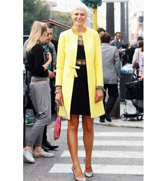 Bright On  At its best, a woman's style defies categorization and reminds us that fashion should be fun!
