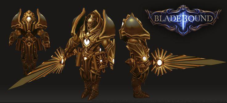 Bladebound Handpainted Miniboss www.facebook.com/zunioart