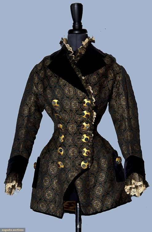 Jacket 1880s Augusta Auctions