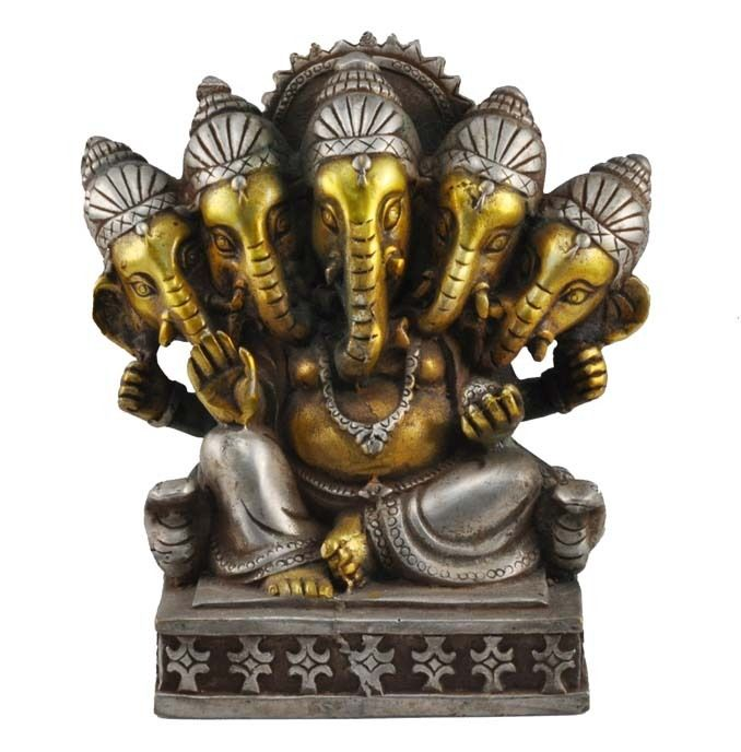 buddha head statue meaning ganesh buddha statue five headed ganesha statue ganesh 10501
