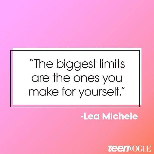 - Lea Michele