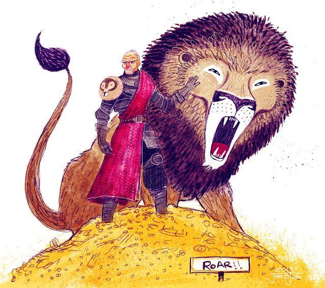 juanbjuan children illustration: Lord Tywin Lannister