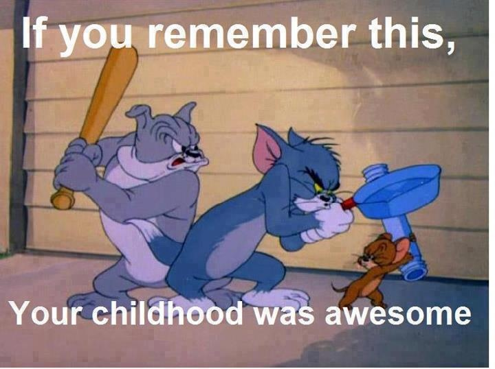 Watched these cartoons hundreds of times 😺🐶🐁