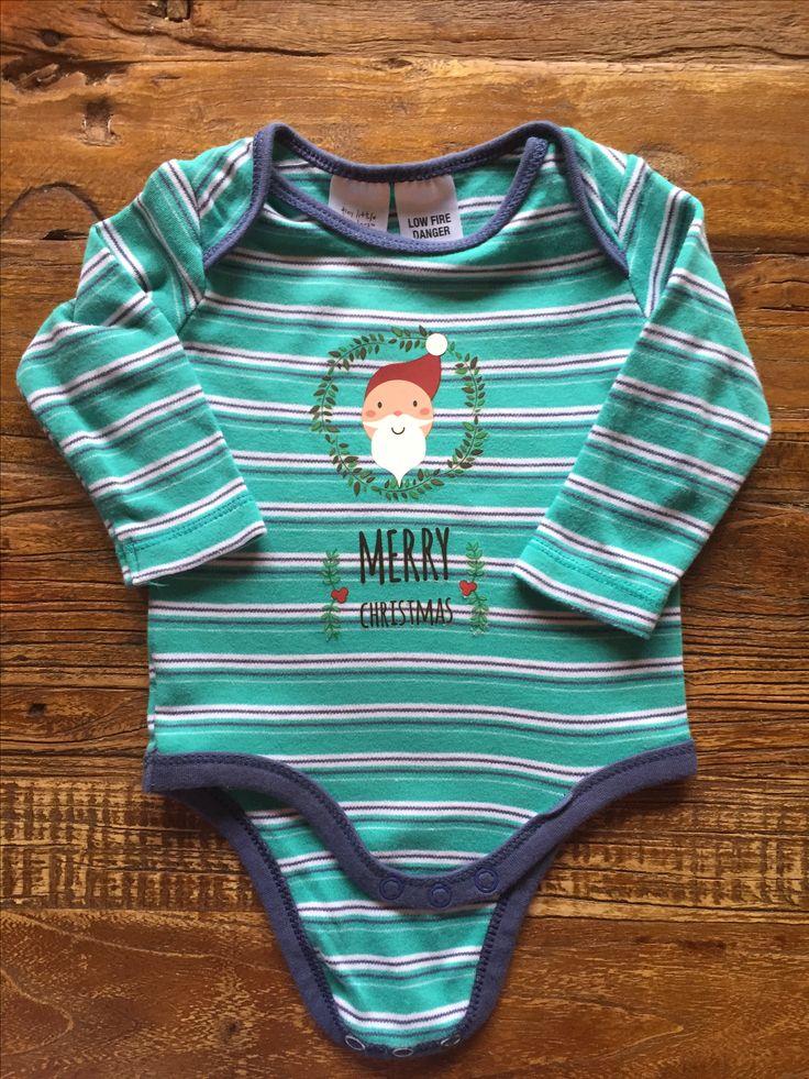 DIY Iron on Christmas Santa Complete Set Shirt Transfers Baby Kids DIY