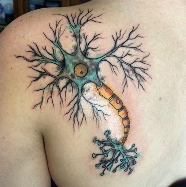 40 Genius Science Tattoo Ideas | http://www.barneyfrank.net/genius-science-tattoo-ideas/
