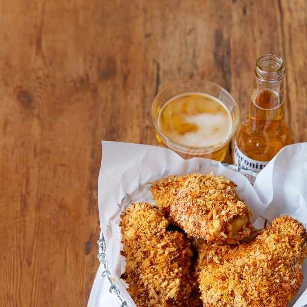 Baked-not-fried chicken