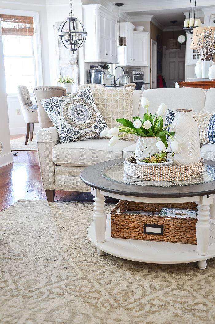 Spring Family Room Farm House Living Room Decor Cheap Home Decor