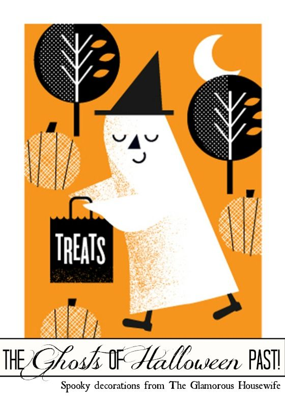 """A round-up of all of my Halloween decorations, both indoor and outdoor. Plus a few crafts. Don't miss the """"Witch's Feast"""" themed front porch! 