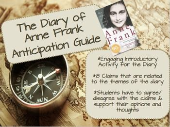 FREE! FREE! FREE! *Successful pre-reading activity to introduce The Diary of Anne Frank.  *8 statements that will develop group or classroom discussion.  Students can share their opinions about different situations.  ****Please RATE and/or FOLLOW me after downloading my free product*** Thank you so much for your support!