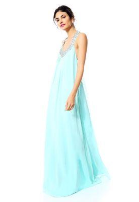Vestido Azul Largo - Catwalk88