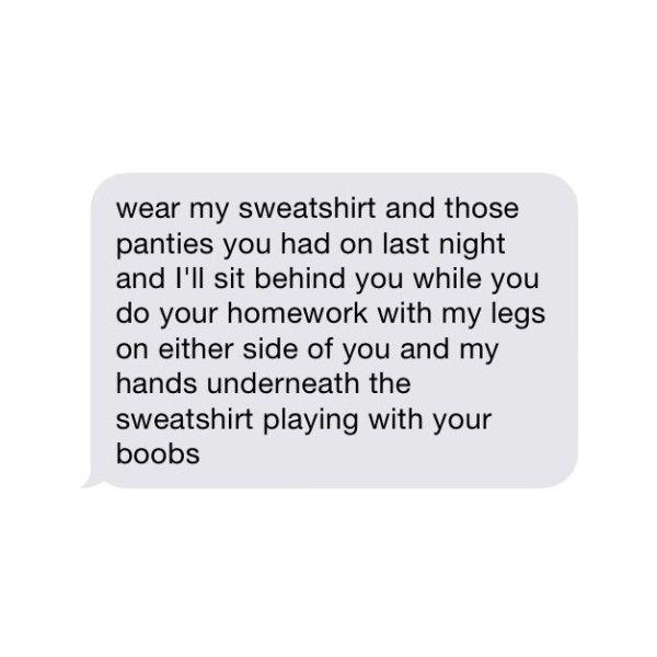 Erotic txt messages