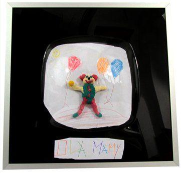 Pochwal się pierwszymi dziełami Twojego dziecka eksponując je w ramce 3dframes
