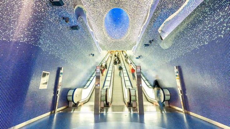 NATIONAL GEOGRAPHIC Metrolapse, in viaggio nella metropolitana di Napoli