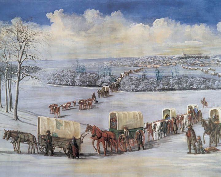 Mormon history | Mormon History. Suggested theme for this image is Mormon Pioneer ...