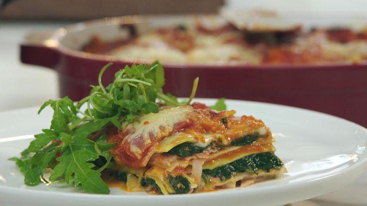 Lasagne met ham en spinazie | Dagelijkse kost