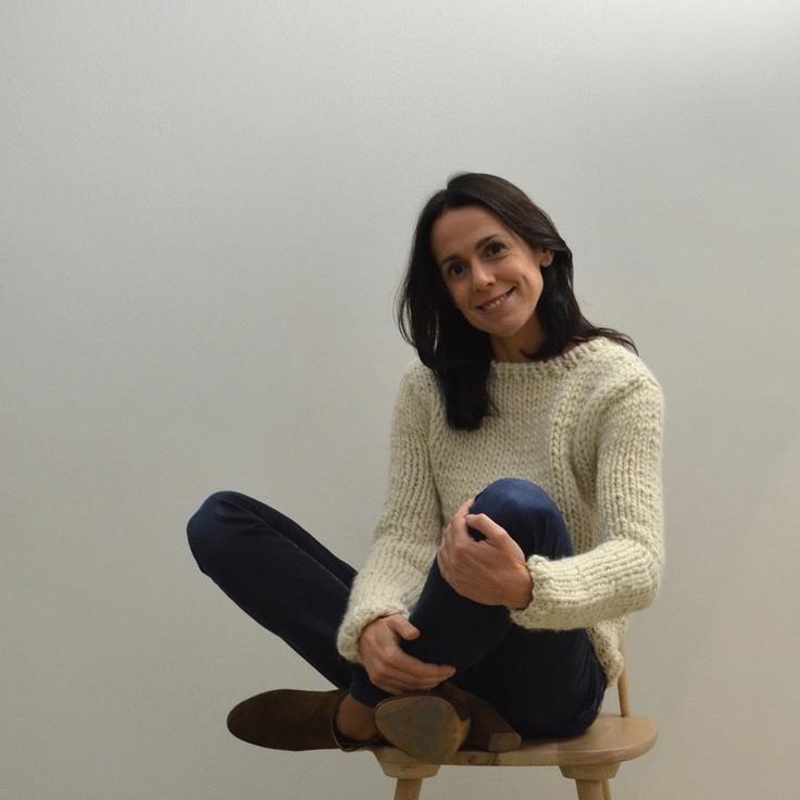rebeca in natural chunky pullover