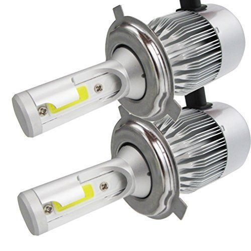 2* H4-H/L LED Phares Voiture Ampoules, NuoYo LED Phare Kit de Ampoule de Rechange Auto Véhicule Etanche IP65 110W 9200LM 50000 Heures Durée…