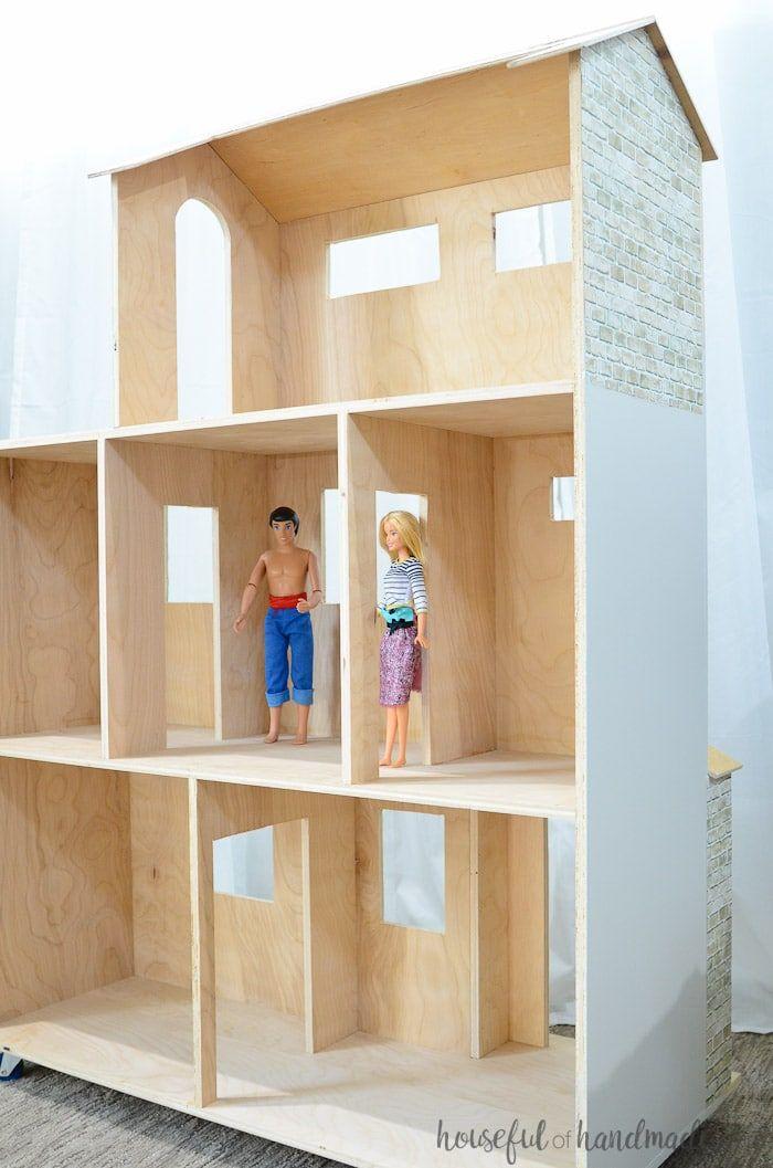 Handmade Dollhouse Plans Barbie House Furniture Diy Barbie Furniture Doll House Plans