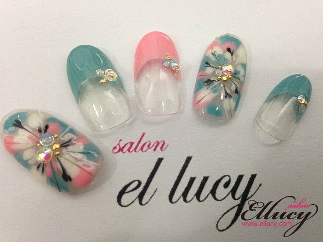 102 best Ellucy Nail Art images on Pinterest | Nail art, Nail art ...
