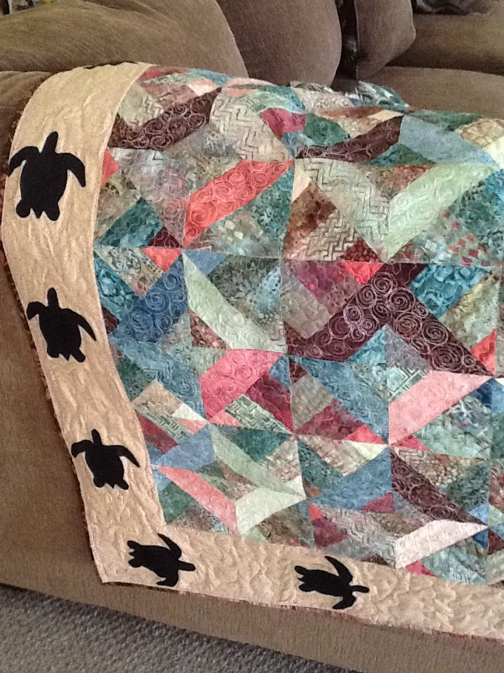 Quilt Patterns With Turtles : 56 best images about Turtle quilt on Pinterest Quilt, Baby sea turtles and Delta zeta