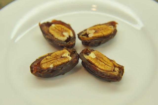 Medjool date + pecan = tastes like pecan pie