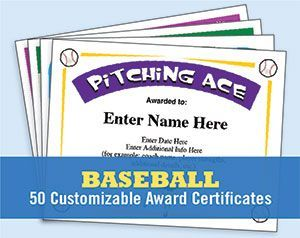 Baseball certificates templates provide a great way to recognize players, coaches and team parents. The coaching form templates plus up team communications.