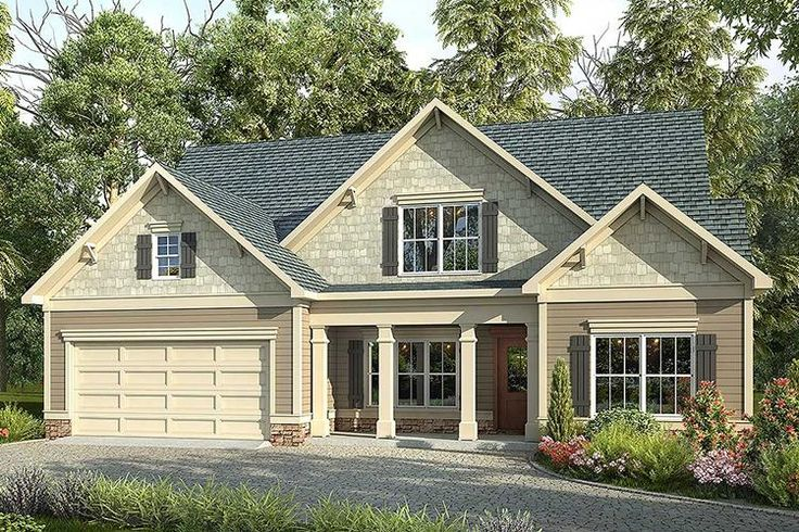 17 Best Images About Craftsman House Plans On Pinterest